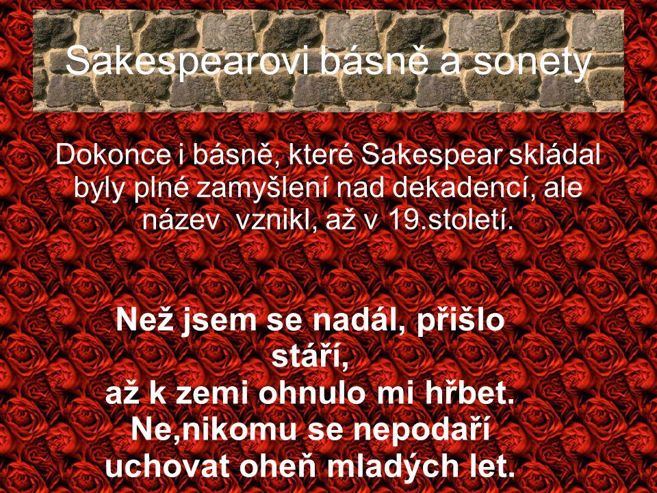 Sakespearovi básně a sonety