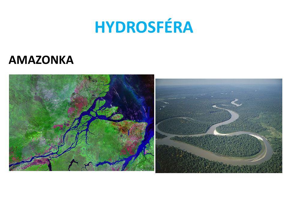 HYDROSFÉRA AMAZONKA