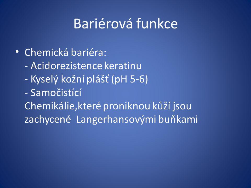 Bariérová funkce