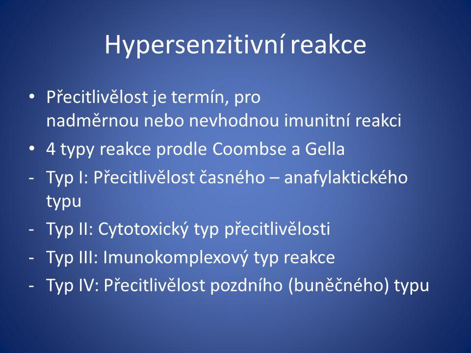 Hypersenzitivní reakce