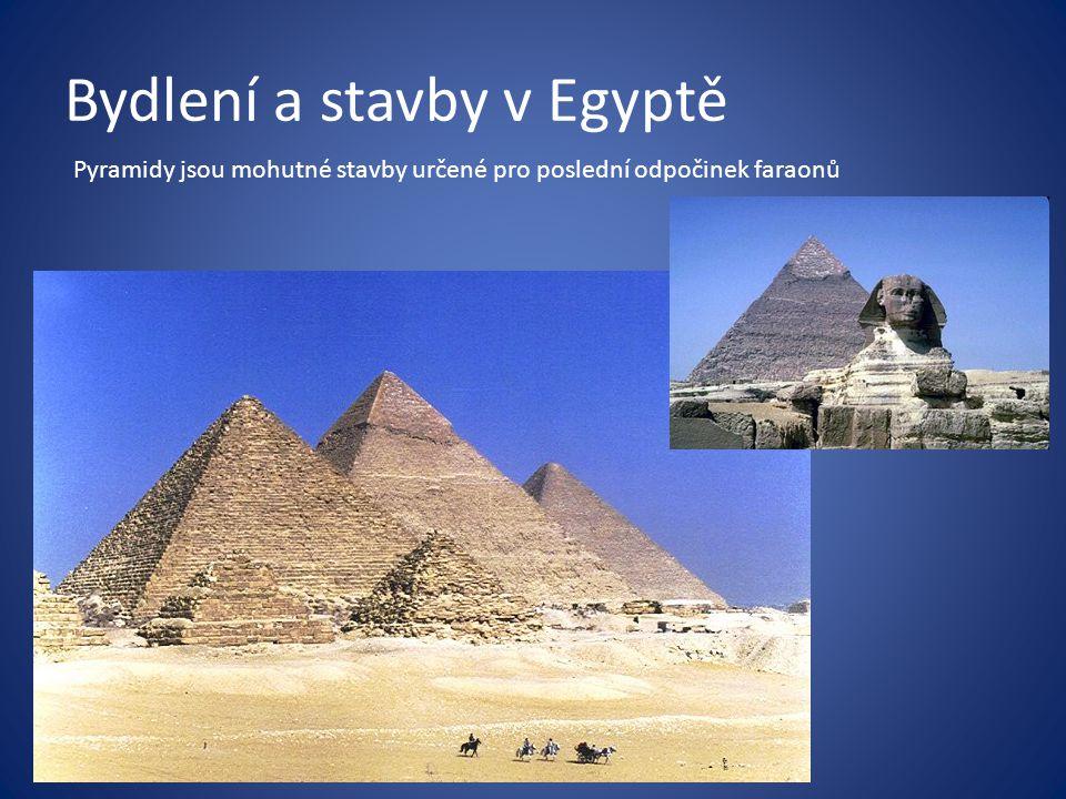 Bydlení a stavby v Egyptě