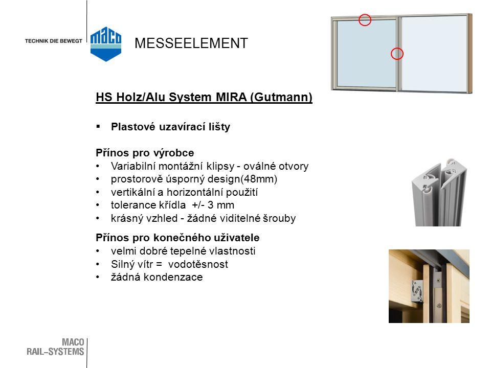 MESSEELEMENT HS Holz/Alu System MIRA (Gutmann)
