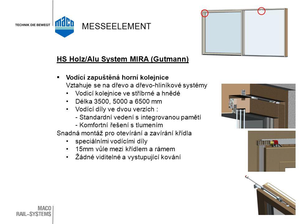 MESSEELEMENT c HS Holz/Alu System MIRA (Gutmann)
