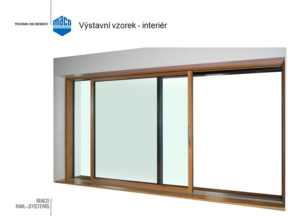 Výstavní vzorek - interiér