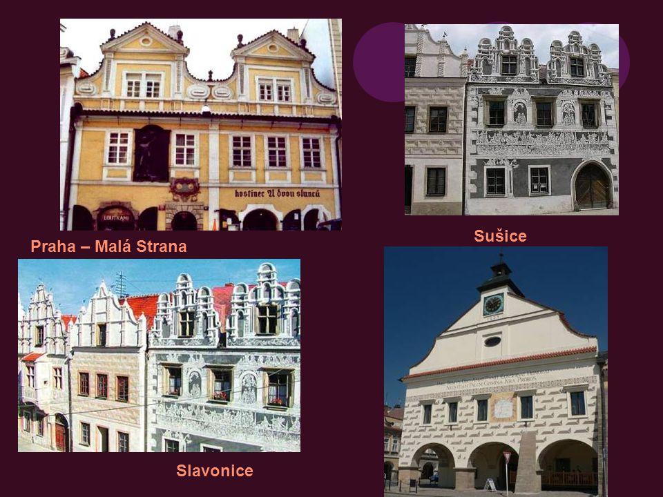 Sušice Praha – Malá Strana Slavonice