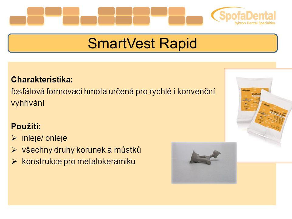 SmartVest Rapid Charakteristika: