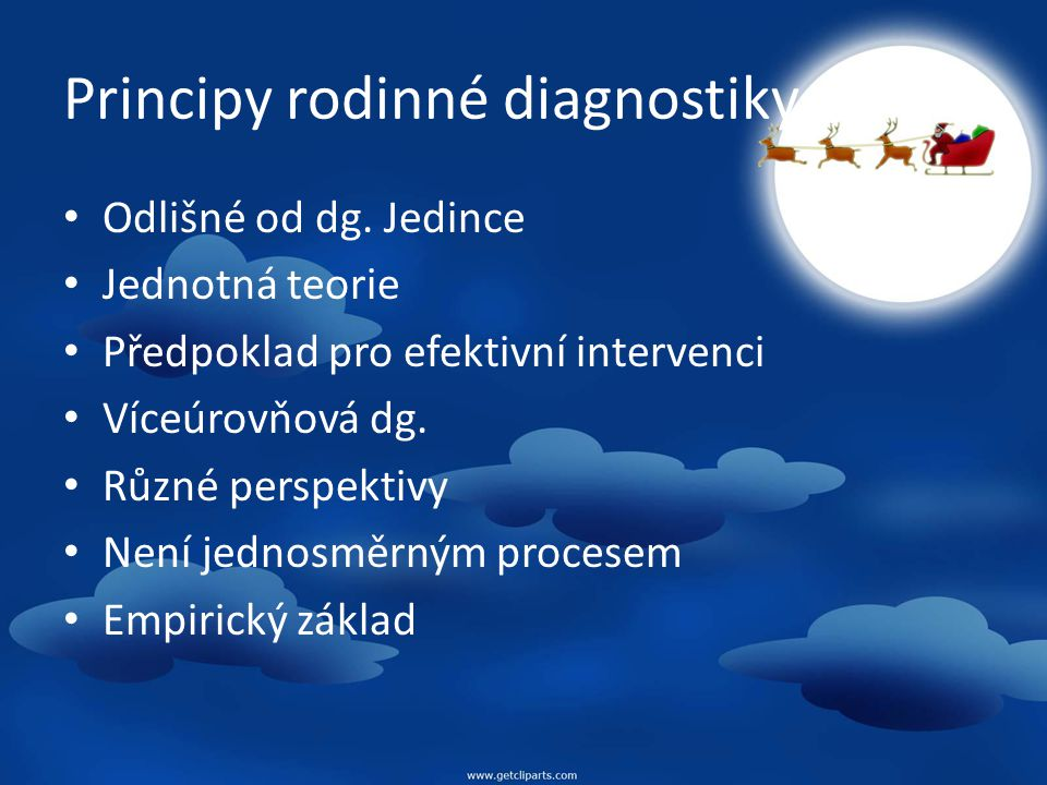 Principy rodinné diagnostiky
