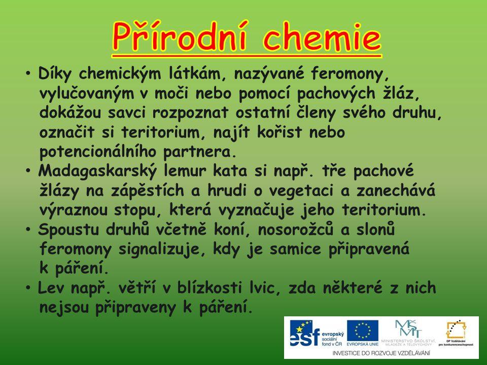 Přírodní chemie