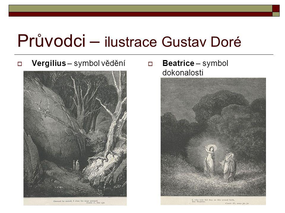 Průvodci – ilustrace Gustav Doré