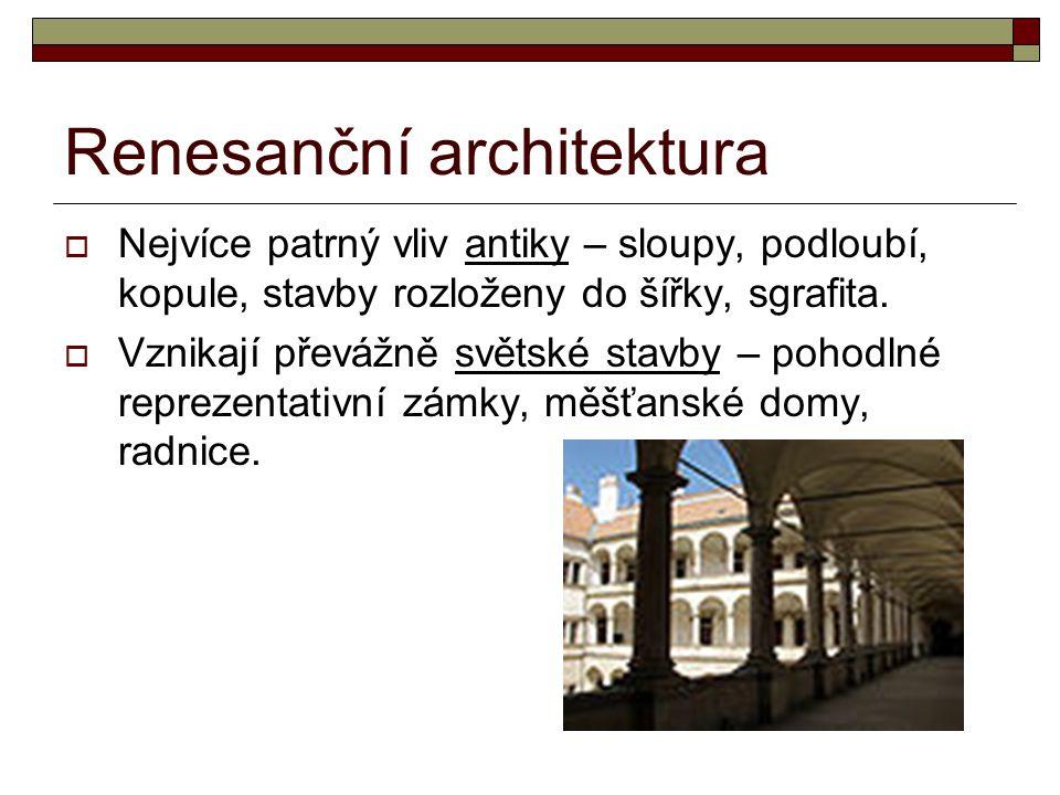 Renesanční architektura