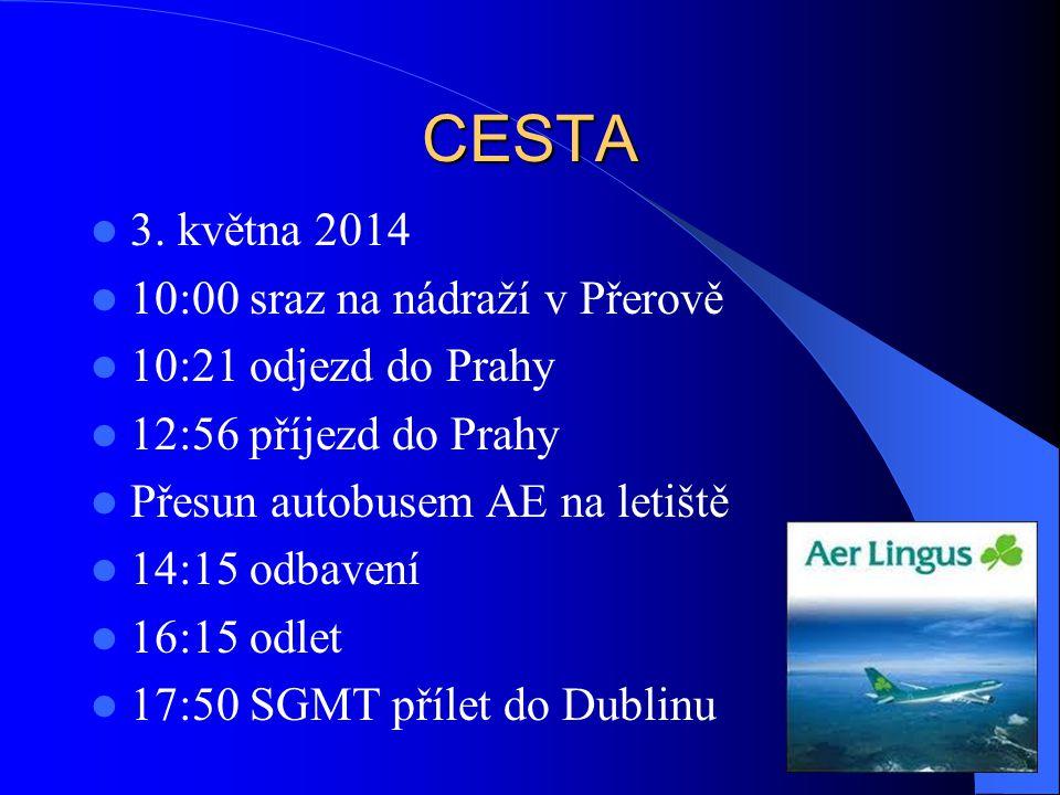 CESTA 3. května 2014 10:00 sraz na nádraží v Přerově