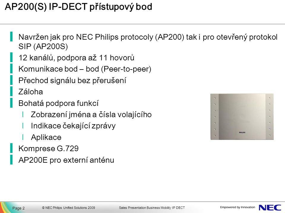 AP200(S) IP-DECT přístupový bod
