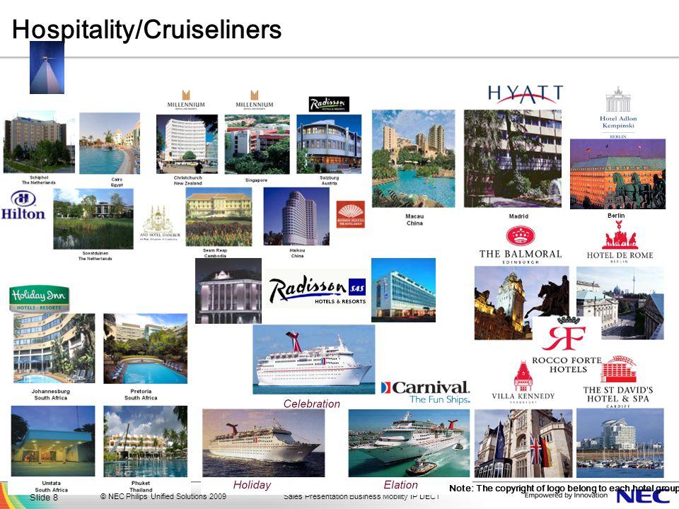 Hospitality/Cruiseliners
