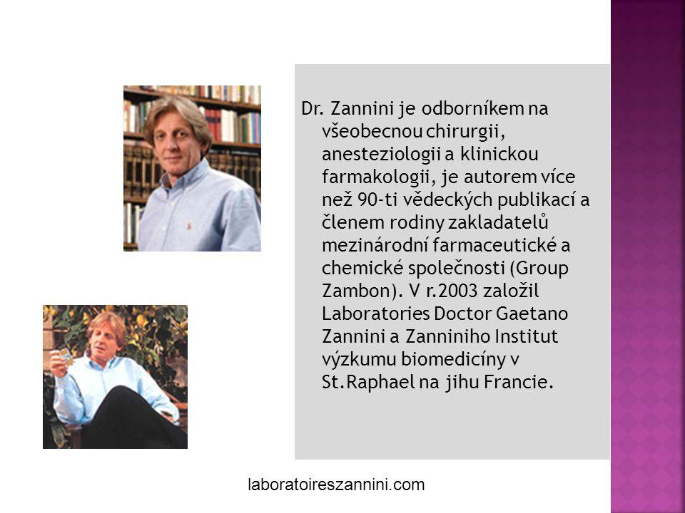 Gaetano Zannini Créateur de soins naturels