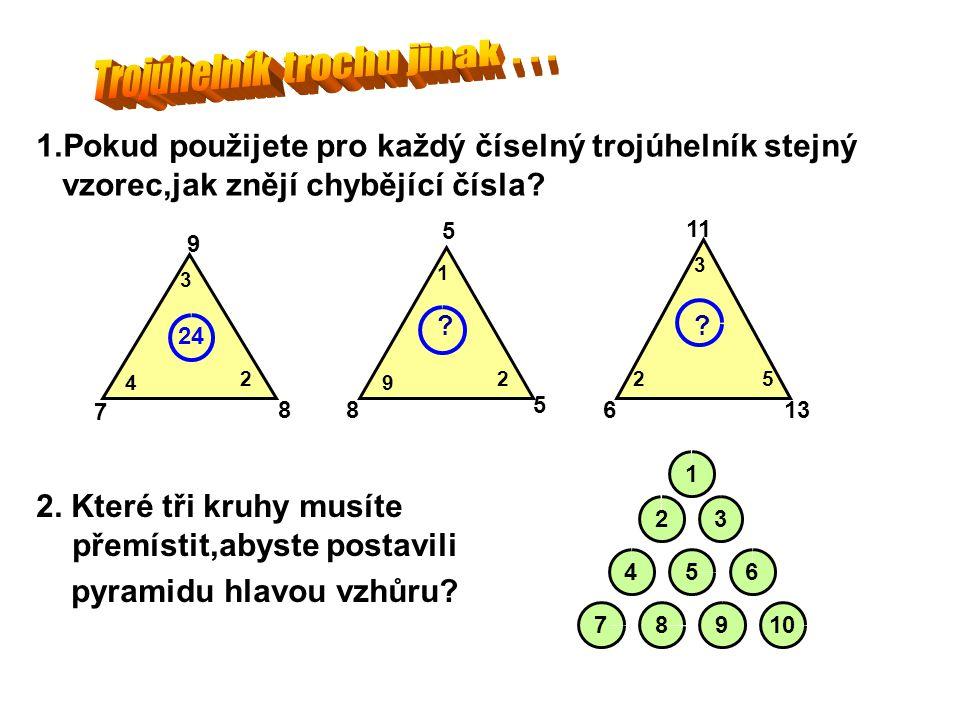 Trojúhelník trochu jinak . . .