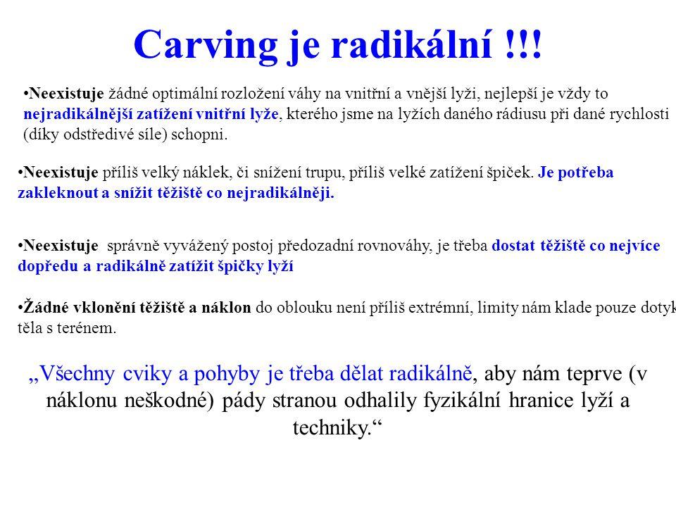 Carving je radikální !!!