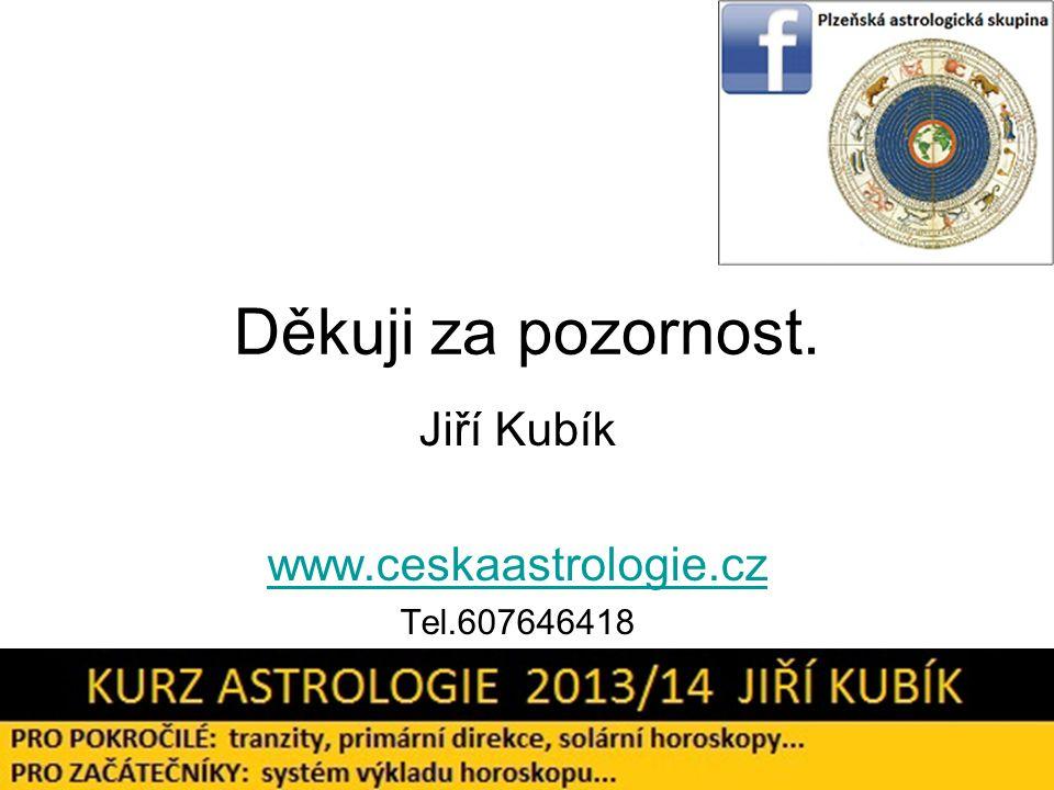 Jiří Kubík www.ceskaastrologie.cz Tel.607646418
