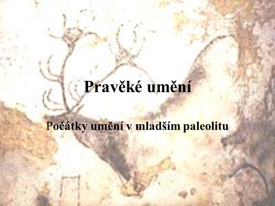 Počátky umění v mladším paleolitu