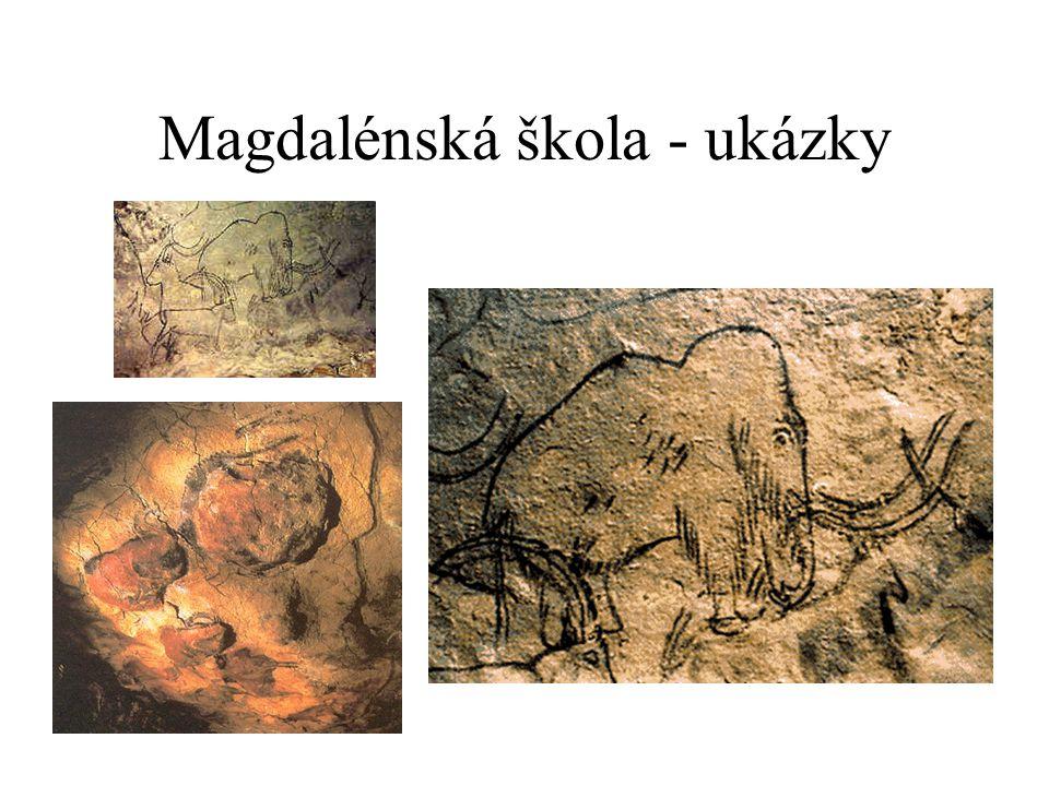 Magdalénská škola - ukázky