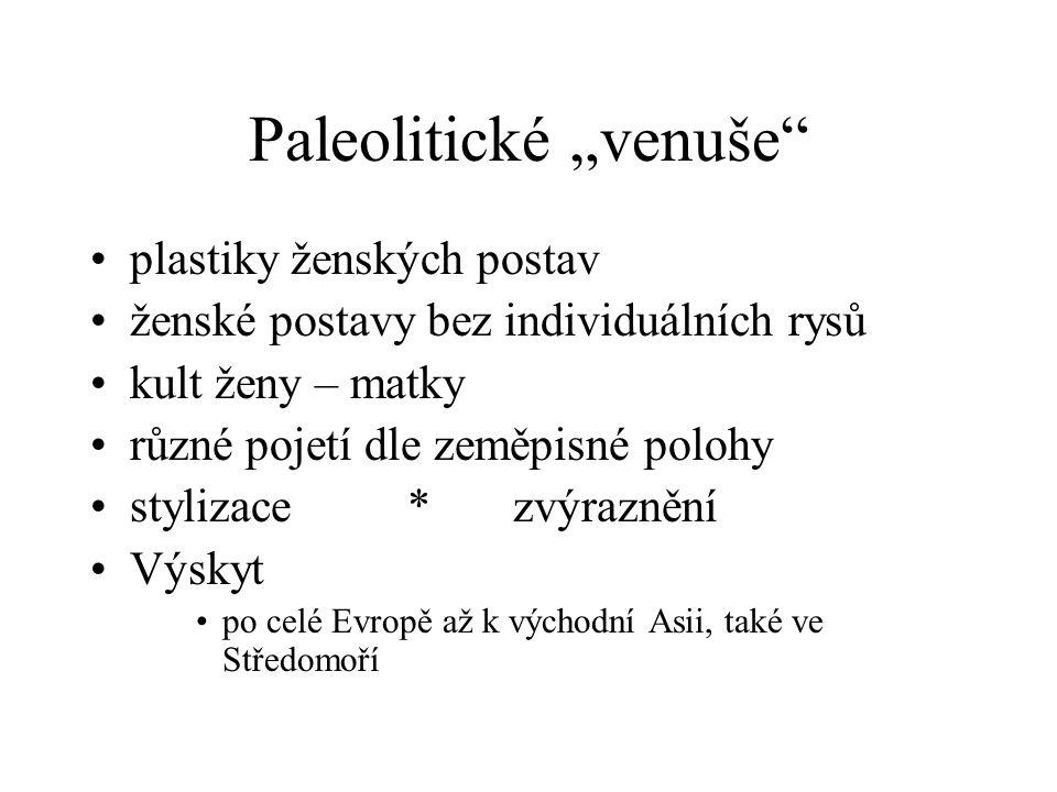 """Paleolitické """"venuše"""
