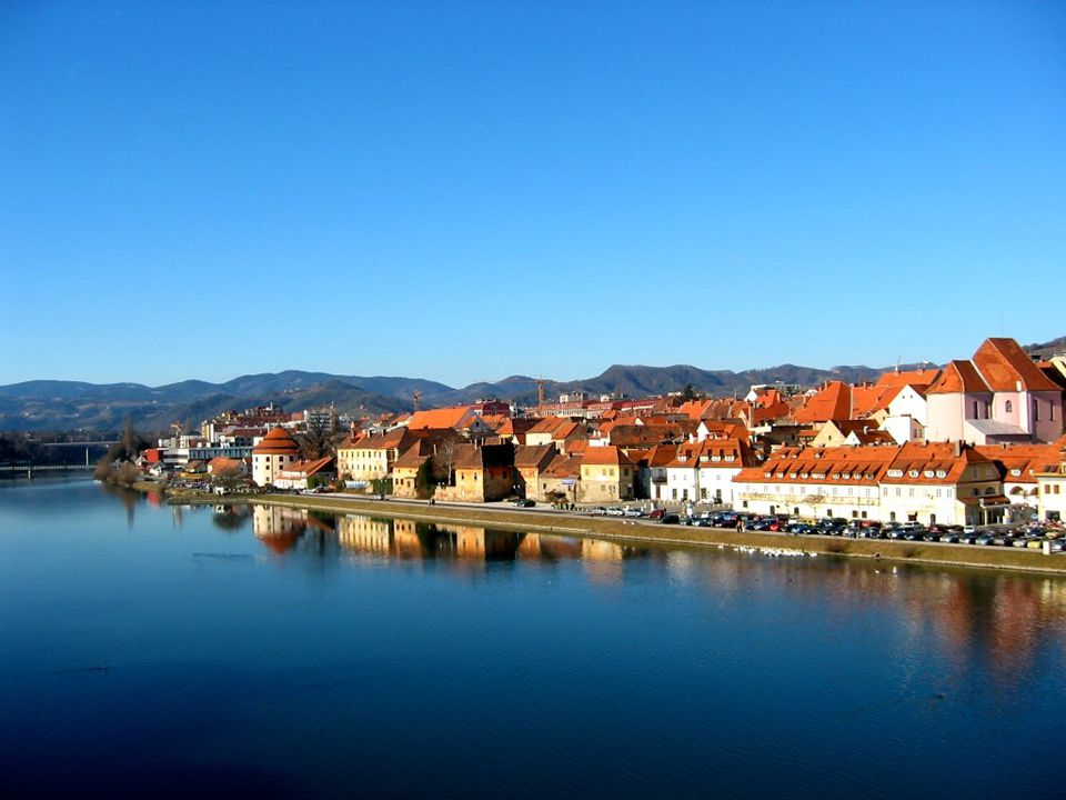 Maribor pod hradem Markburg