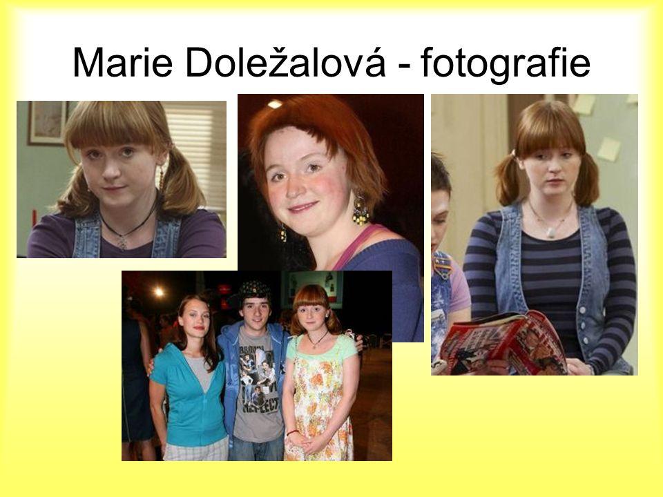 Marie Doležalová - fotografie