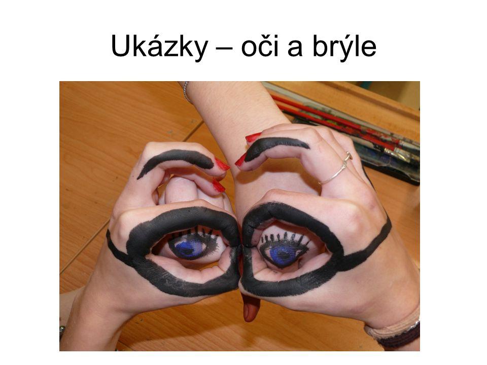 Ukázky – oči a brýle