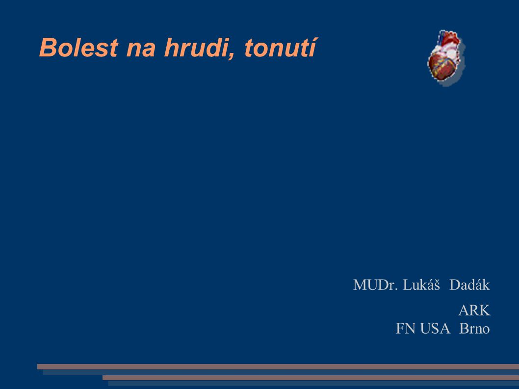MUDr. Lukáš Dadák ARK FN USA Brno