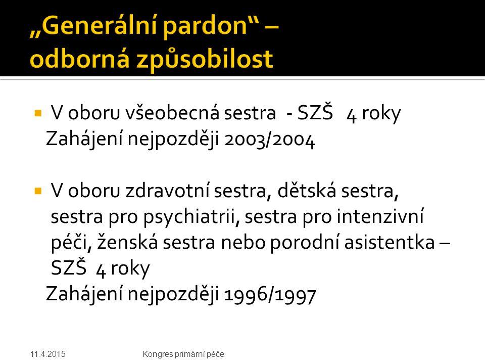 """""""Generální pardon – odborná způsobilost"""