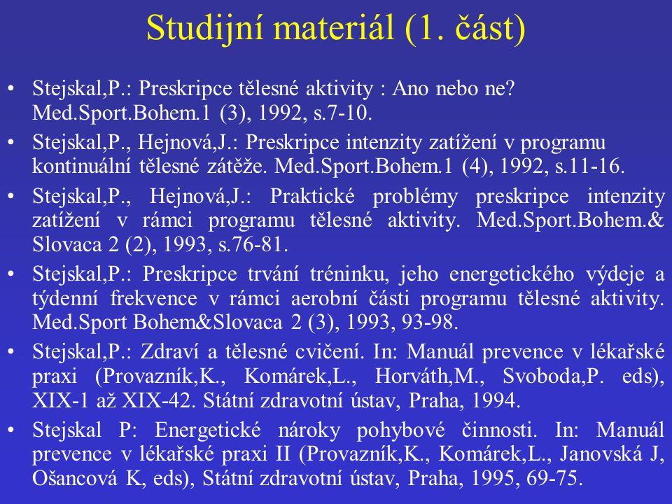Studijní materiál (1. část)