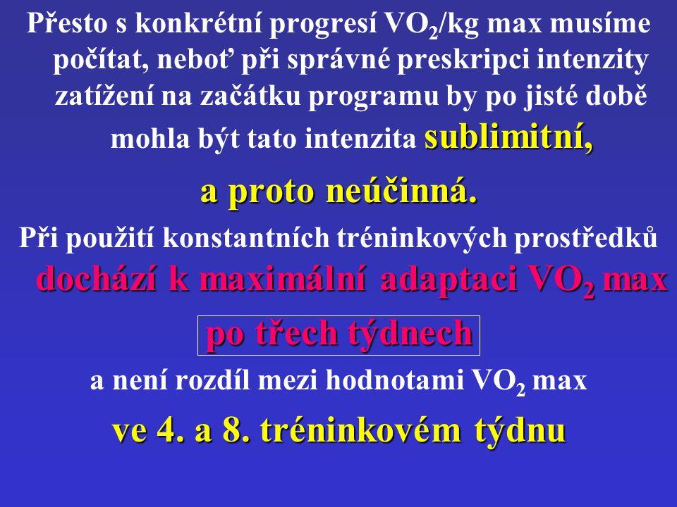 a není rozdíl mezi hodnotami VO2 max