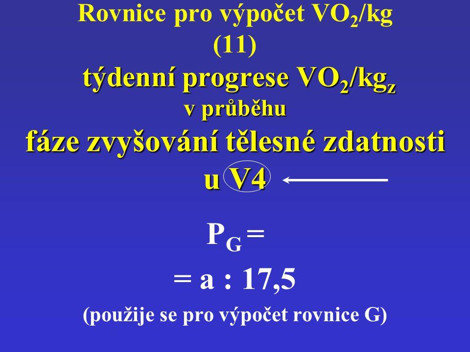 (použije se pro výpočet rovnice G)