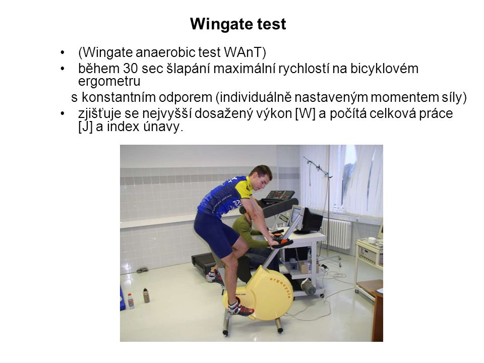 Wingate test (Wingate anaerobic test WAnT)
