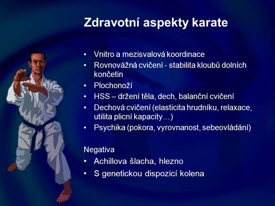 Zdravotní aspekty karate