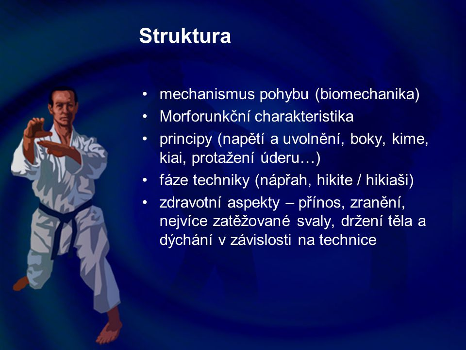 Struktura mechanismus pohybu (biomechanika)