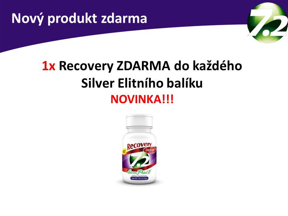 1x Recovery ZDARMA do každého Silver Elitního balíku