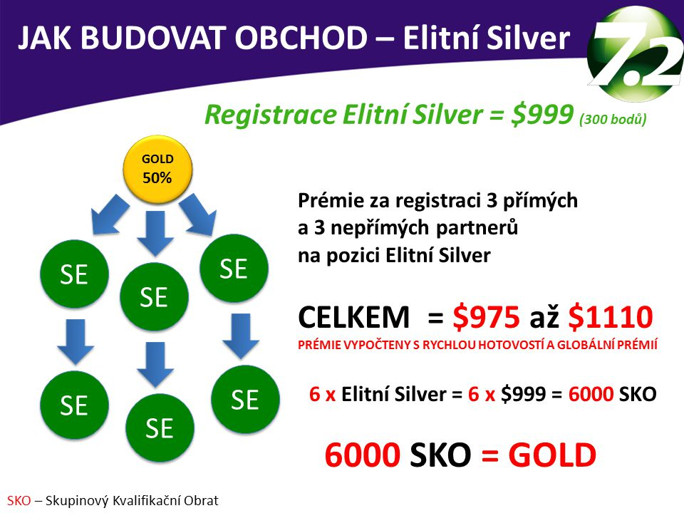 6000 SKO = GOLD JAK BUDOVAT OBCHOD – Elitní Silver