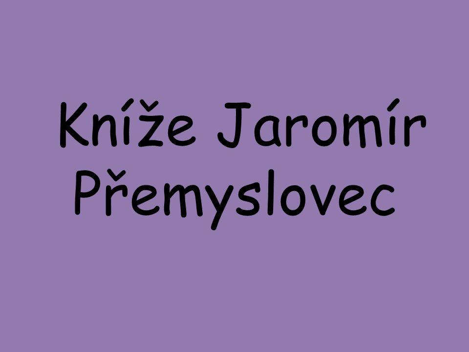 Kníže Jaromír Přemyslovec