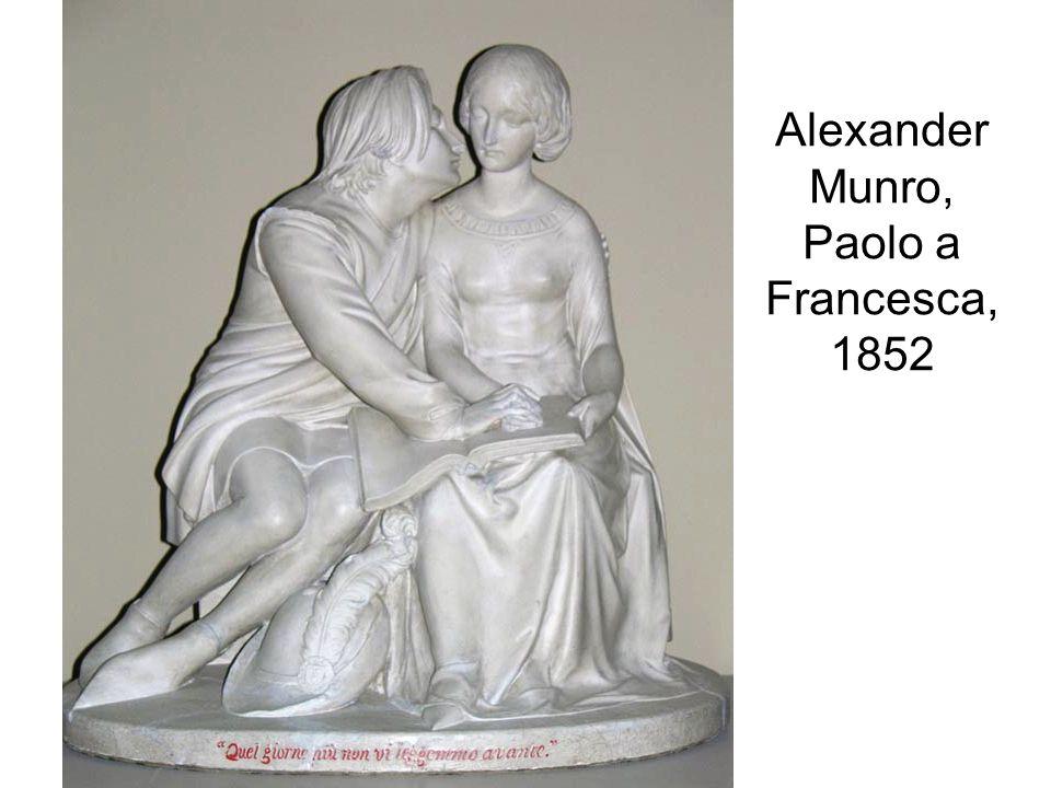 Alexander Munro, Paolo a Francesca, 1852