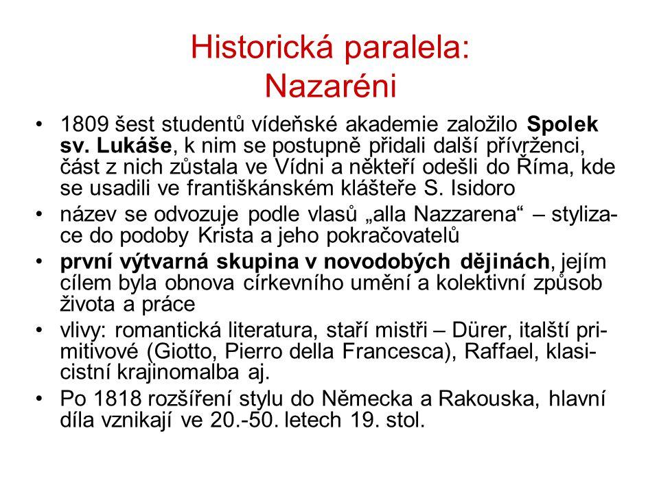 Historická paralela: Nazaréni