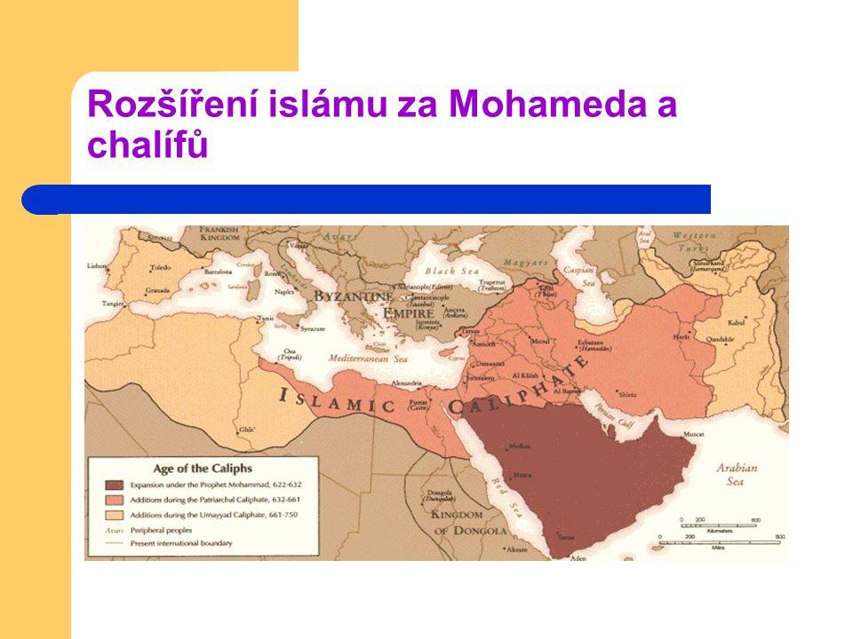 Rozšíření islámu za Mohameda a chalífů