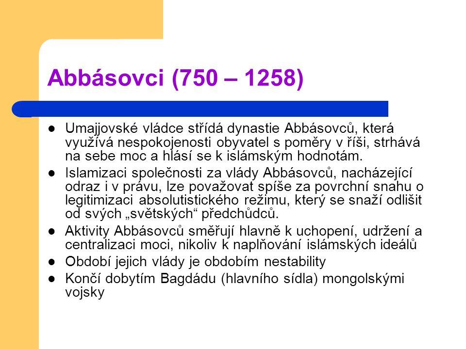 Abbásovci (750 – 1258)
