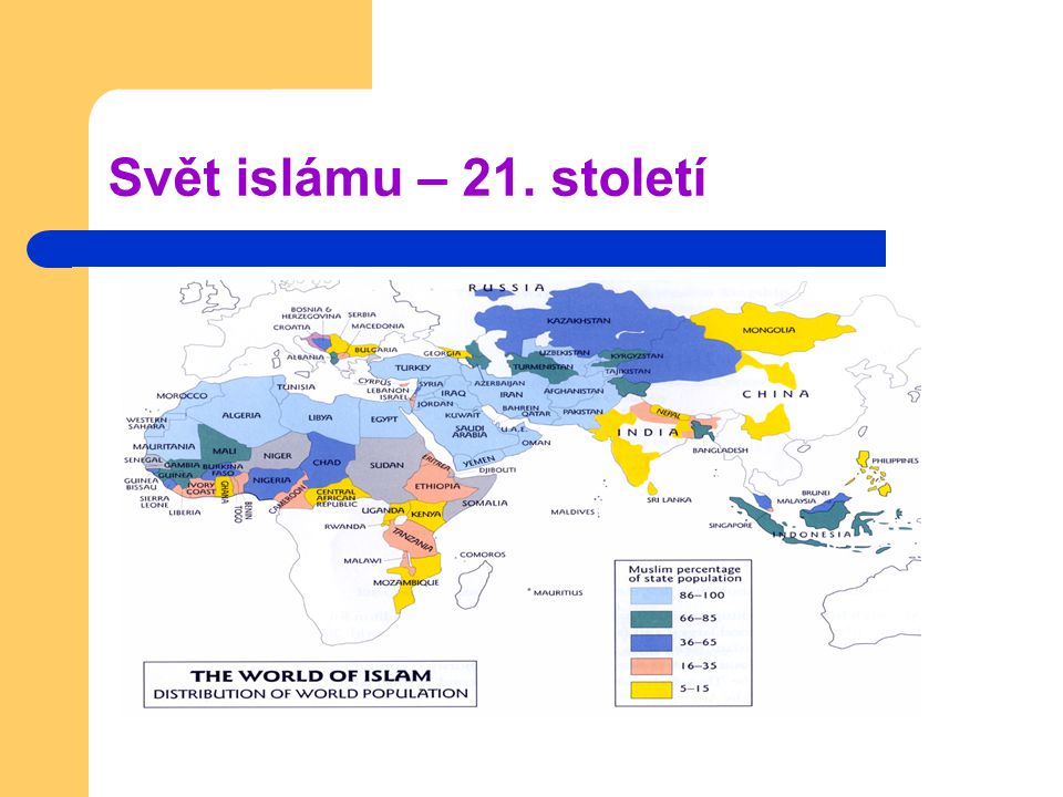 Svět islámu – 21. století
