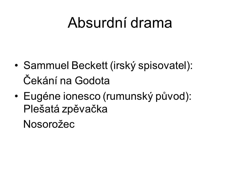 Absurdní drama Sammuel Beckett (irský spisovatel): Čekání na Godota