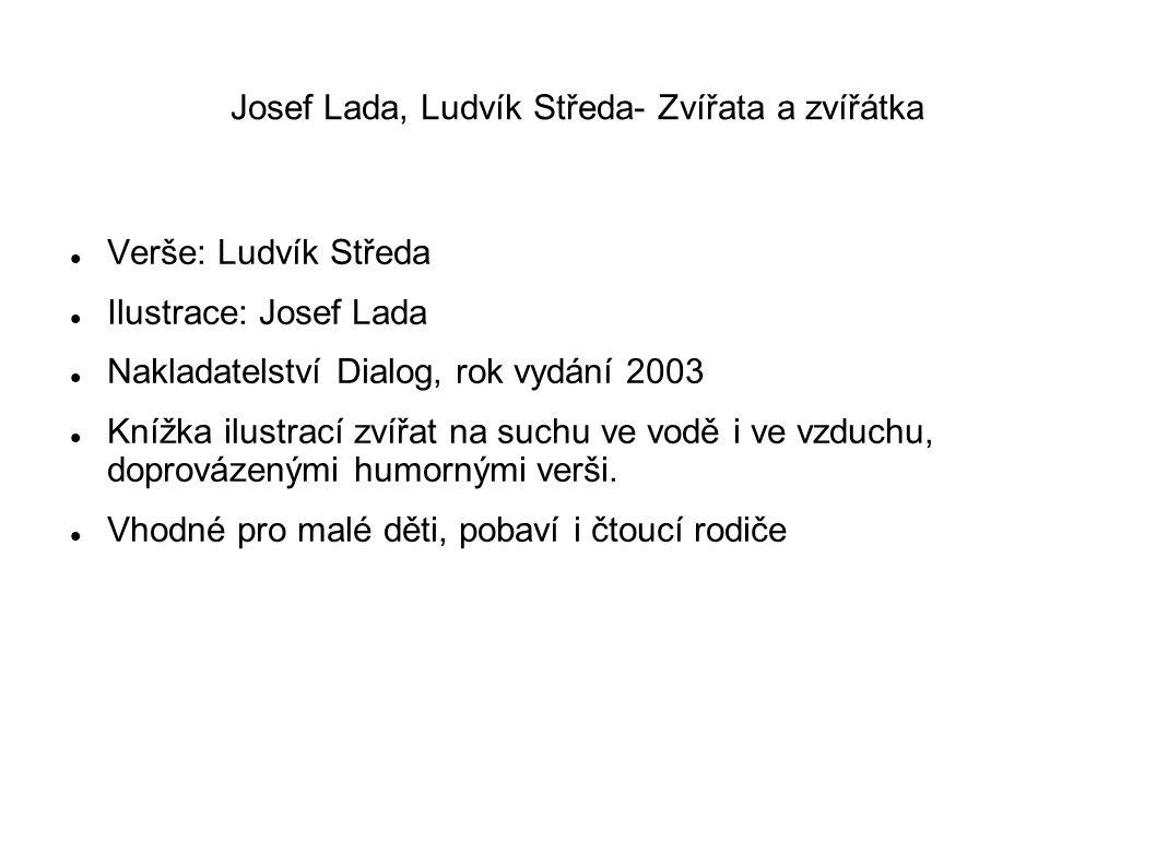 Josef Lada, Ludvík Středa- Zvířata a zvířátka