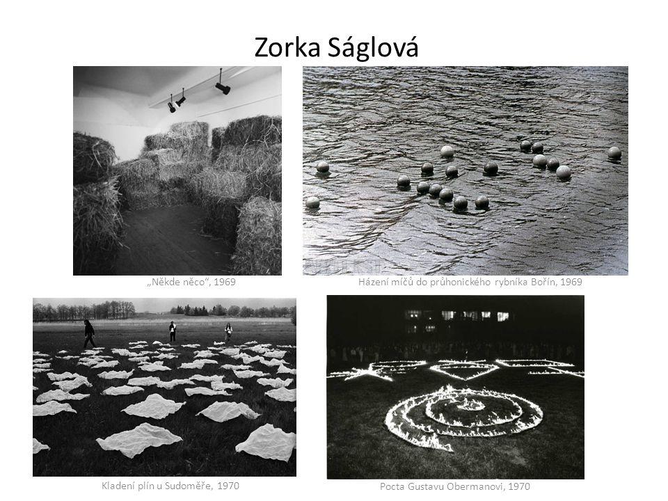"""Zorka Ságlová """"Někde něco , 1969"""