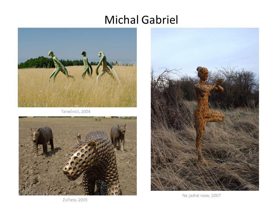 Michal Gabriel Tanečníci, 2004 Na jedné noze, 2007 Zvířata, 2005