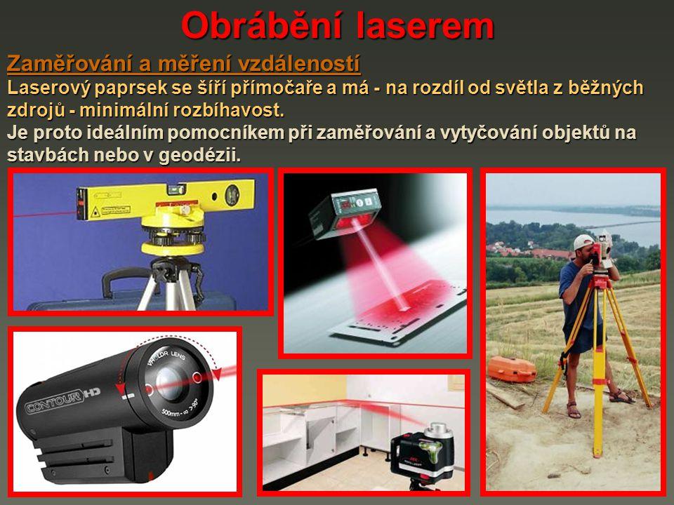 Obrábění laserem