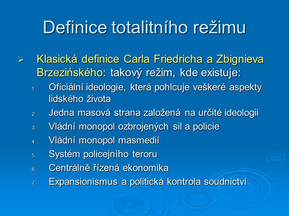 Definice totalitního režimu