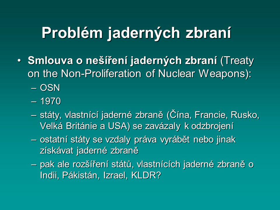 Problém jaderných zbraní